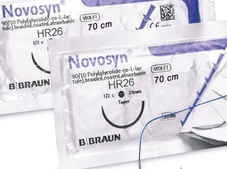 NOVOSYN® QUICK HR26 USP 4/0, metric 1,5 70 cm violett 1x36 Stück