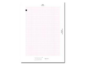 EKG-Papier Hellige Cardiosmart / MAC1200 (alternativ), 210 x 295 mm 1x1 Stück