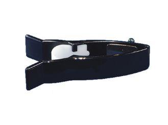 Klammerelektrode Farbe: schwarz 1x1 Stück