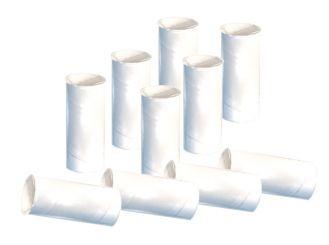 Plastic mouthpieces Schiller SP150/160/250 Ø 24.0 x 75mm 1x10 items