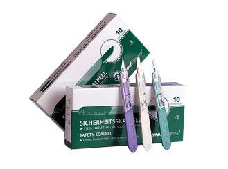 Mediware® Einmal-Sicherheitsskalpelle Fig. 15 1x10 Stück