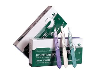 Mediware® Einmal-Sicherheitsskalpelle Fig. 10 1x10 Stück