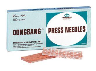 Dongbang Ohr-Dauernadeln, 0,2 x 1,0 mm 1x100 items