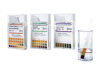 pH indicator strips not bleeding pH 4 - 7, 1x100 items