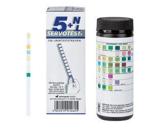 Servotest® 5+NL Urinteststreifen 1x100 Teste