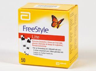 FreeStyle Lite Blutzucker Teststreifen 1x50 items