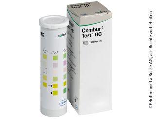 Combur 5-Test HC Harnteststreifen 1x10 Stück