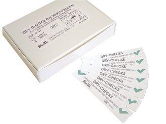 BAG Dry-Checks, Heat-Indikatorstreifen 1x250 Stück