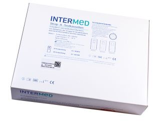 INTERMED Strep-A-Test, Testkartenversion 1x10