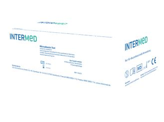 INTERMED Mikroalbumin Schnelltest, Streifenversion 1x10 Teste