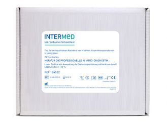 INTERMED Mikroalbumin Schnelltest, Streifenversion 1x25 Teste