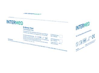 INTERMED D-Dimer-Test, test cartridges 1x5