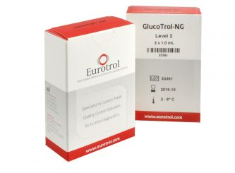 HemoCue® GlucoTrol NG Level 2, Messbereich -108mg/dl 2x1 ml
