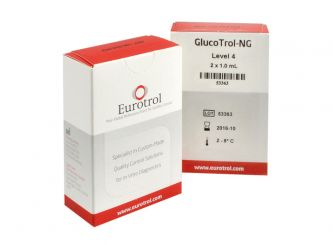 HemoCue GlucoTrol NG Level4, Messbereich ~315mg/dl 2x1 ml