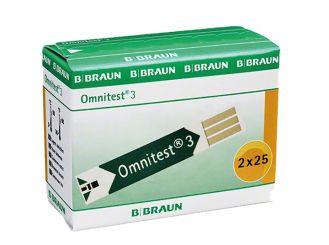 Omnitest® 3 Teststreifen 2x25 items