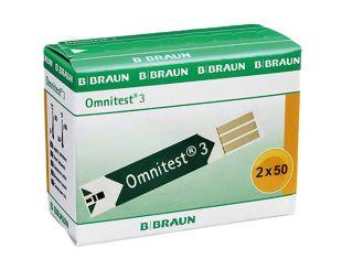 Omnitest® 3 Teststreifen 2x50 items