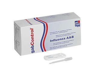 gabControl® Influenza A+B II 1x5 Teste