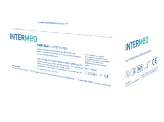 INTERMED CRP - Test, Teststreifen 1x20 Teste