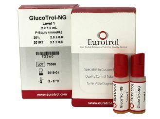 HemoCue GlucoTrol Level1 ~45mg/dl 2x1 ml