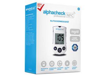 alphacheck professional NFC mg/dl Blutzuckermessgerät Kombipackung 1x1 items