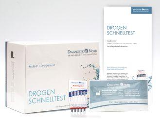 Diagnostik Nord Multi 7/1 Drogen-Tauchtest, 1x20 T