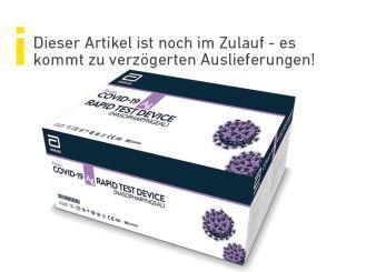 Corona-Schnelltest (Abbott): Panbio (TM) COVID-19 Ag, Antigen Test, 1x25 items