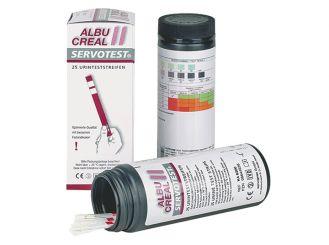 Servotest Albucreal II Teststreifen 1x25 Stück