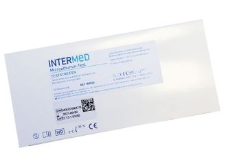INTERMED Microalbumin Schnelltest, Streifenversion 1x10 Teste
