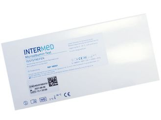 INTERMED Microalbumin Schnelltest, Streifenversion 1x25