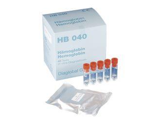 HB 040/40 Küvetten, inkl. Kapillaren 5 µl, 1x40 Stück