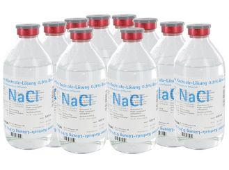 B.Braun Isotonische Kochsalzlösung 0,9% Ecoflac Plus 10x500 ml