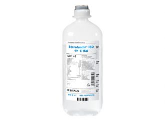 Sterofundin® ISO Ecoflac plus 10x500 ml
