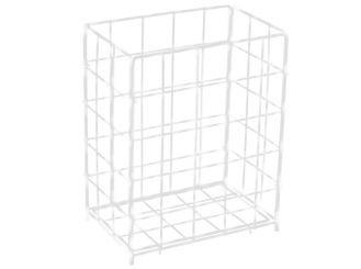 Sammelkorb groß 63,0 x 41,0 x 25,5 cm (H x B x T) weiß 1x1 Stück