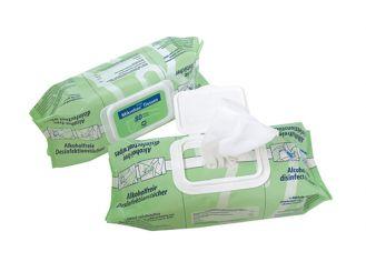 Mikrobac® Tissues, Schnelldesinfektionstücher, 6x80 Tücher