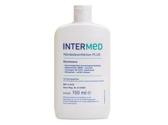 INTERMED Hand disinfection PLUS, 1x150 ml