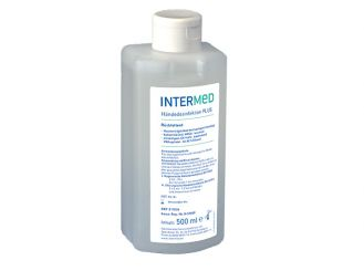 INTERMED Hand disinfection PLUS 1x500 ml