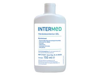 INTERMED Händedesinfektion GEL, rückfettend, viruzid 1x150 ml