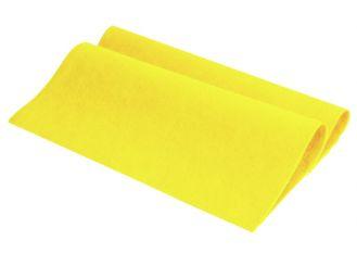 Vlies - Allzwecktuch gelb, 38 x 38 cm 1x10 Stück