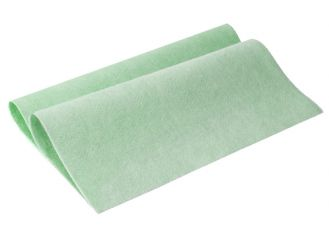 Vlies - Allzwecktuch grün, 38 x 38 cm 1x10 Stück