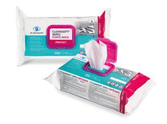 Cleanisept® Wipes Forte maxi, 20 x 22 cm, 1x100 Stück
