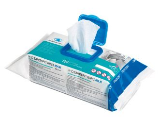 Cleanisept® Wipes maxi, 20 x 22 cm, Flowpack, 1x100 Tücher