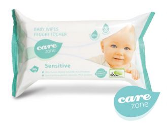 Baby Wipes sensitive Care zone 18 x 20 cm 1x80 Stück