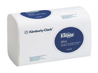 Kleenex® Ultra Handtücher (6777) 21,5 x 31,5 cm 2-lagig AIRFLEX Material interfold hochweiß 1x4712