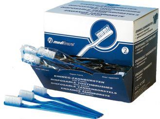 Einmal-Zahnbürsten mit Zahnpasta 1x102 Stück