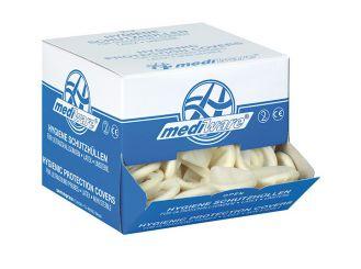 Hygieneschutzhüllen Ø 28 mm, Latex, gerollt, leicht gepudert 1x144 Stück