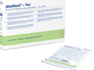 MaiMed®-Tex sterile OP-Handschuhe Latex Gr.7,5 1x50 Paar