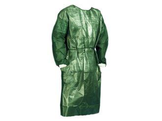 Einmal-Kittel grün wasserfest 1x10 Stück