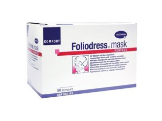 OP-Maske Foliodress® Mask Comfort Perfect grün 1x50 Stück