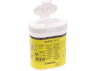 Medibox® 0,7 Liter Kanülensammler 1x1 Stück