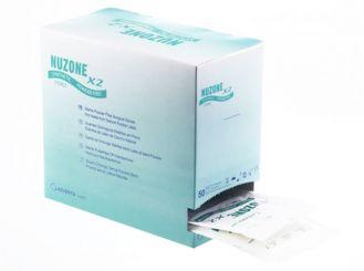 OP-Handschuhe NUZONE X2 latexfrei Gr.7,5 steril puderfrei 1x50 Paar